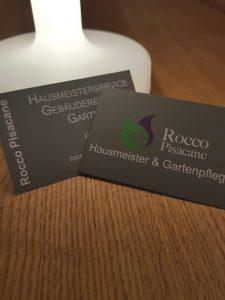 Visitenkarte Rocco Pisacane