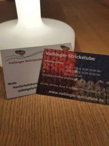 Vistenkarten Vaihinger Strickstube